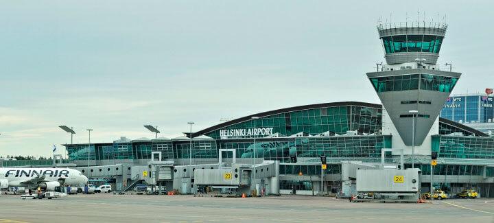 Аэропорт Вантаа в Хельсинки